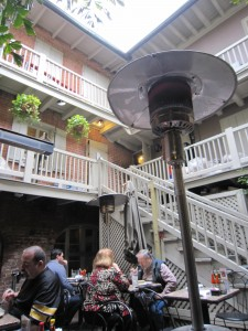 Gumbo Shop Courtyard