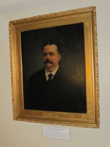 This stately portrait of Ernest B. Kruttschitt was moved to a mezzanine where no one will see it