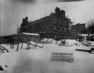 Boyce Thompson Institute construction - 1923.
